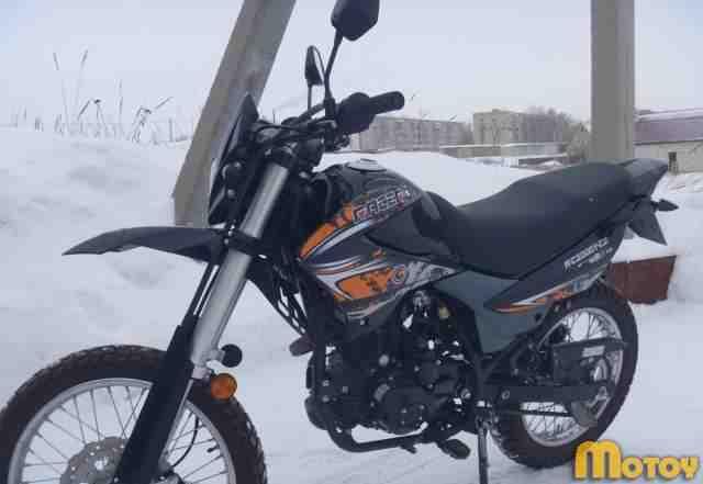 Мотоцикл рейсер-RC200GY-C2.200куб. новый, пробег570