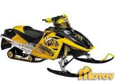 Снегоход Ski-Doo MXZ X 600 HO E-TEC