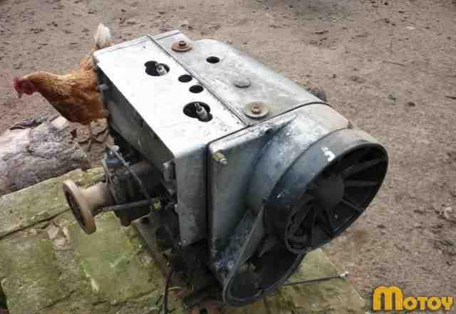 Двигатель для снегохода буран рмз-640