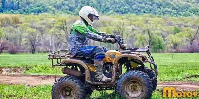 Новый утилитарный квадроцикл ирбис ATV 200U