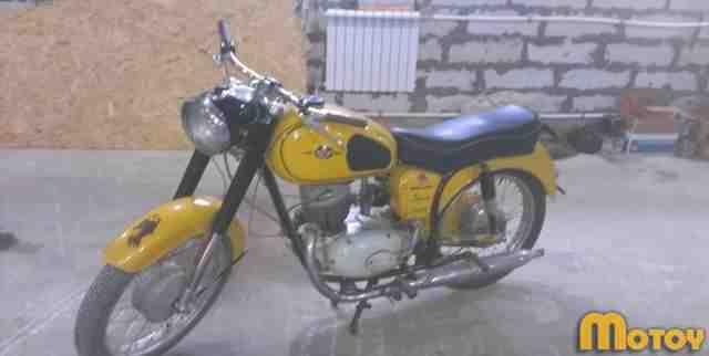 Мотоцикл Панония 1972 г. в