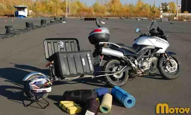 прицепы к мотоциклам
