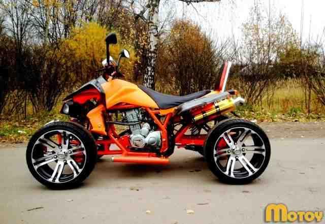 Спортивный квадроцикл на литье
