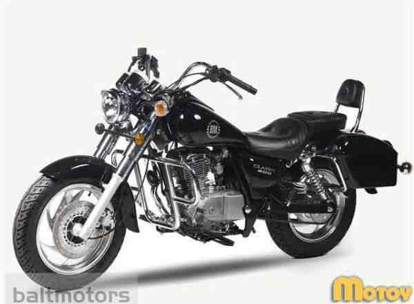 Мотоцикл Baltmotors классик 200