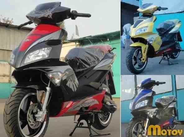 Новые 4-х тактн. скутеры 72сс UMC 20A3