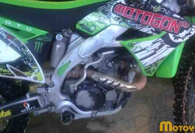 Кроссовый мотоцикл Кавасаки KX450F 2011