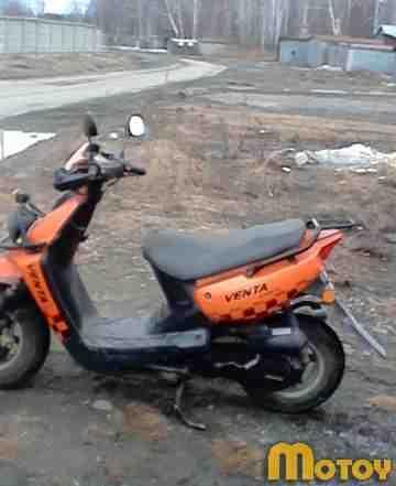 Продам 4-х тактный 50-кубовый скутер venta QT-2s