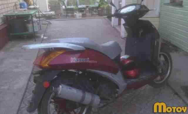 Продаю макси-скутер Kanuni эспайр(150 кубов)