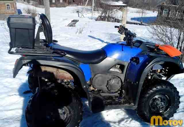 Квадроцикл Stels450h