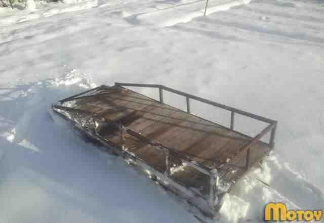 Продам снегоход Буран