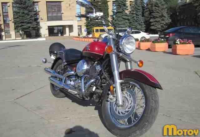 Мотоцикл Ямаха XVS 650 A Драг Стар Классик
