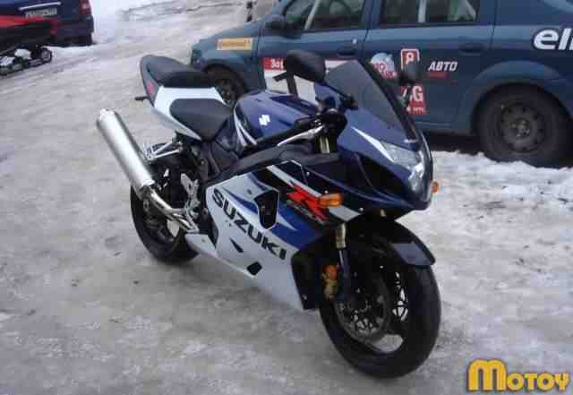 Сузуки GSX R750 2004 г