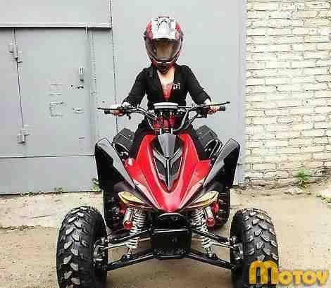 Ямаха ATV Pro Год 2014