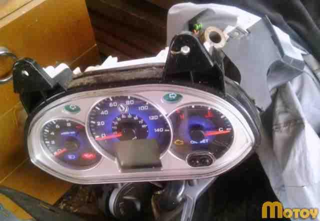 Аварийный скутер SYM (джойрайд 200I)