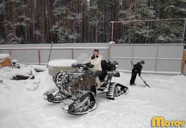 Снегоболотоход атv 500Н EFI
