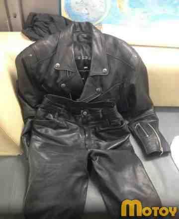 Мото костюм косуха+ штаны