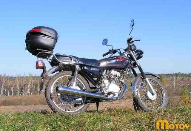Продам мотоцикл Патрон Simpler 125 см