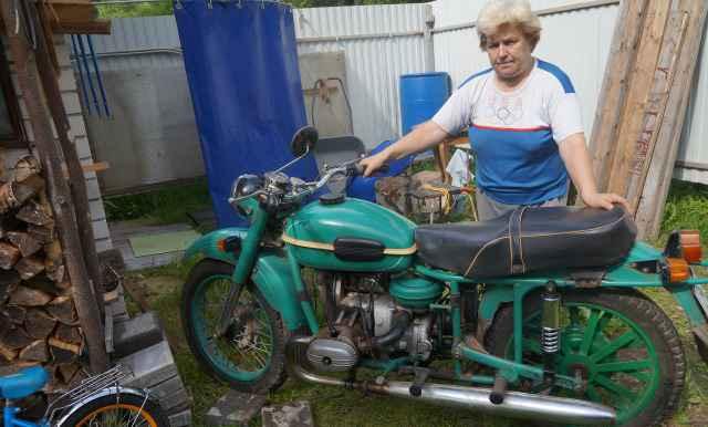 Мотоцикл Урал М 67-36 1983 года