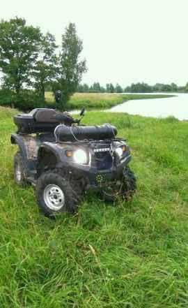 Стелс ATV 500Нisun
