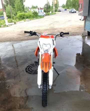 продам кроссовый мотоцикл с коляской #6