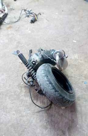 Двигатель Хонда Dio27 в сборе