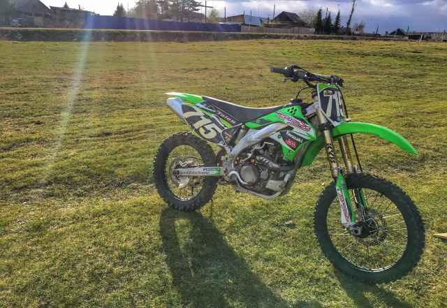 кавасаки квадроцикл 450