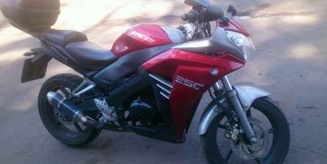 Mотоцикл Рейсер 250