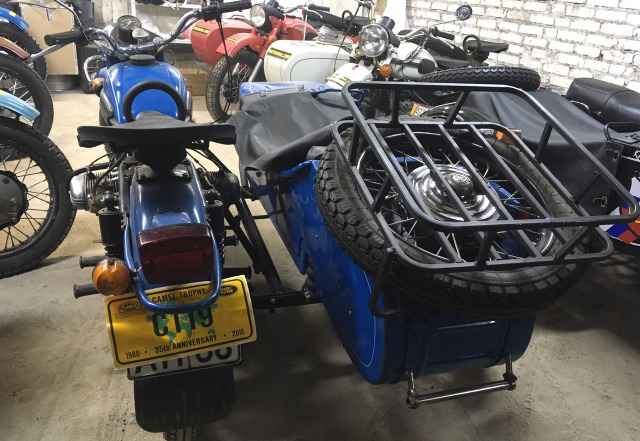 Мотоцикл Урал Турист 8.103-40 1993 г.в. 740 км