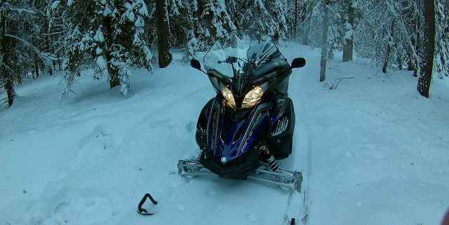 Снегоход Ямаха Вентура тf