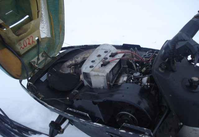Снегоход рысь 440 с двигателем буран