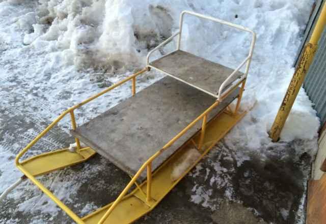 Сани для снегохода