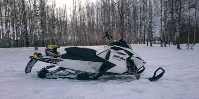 Снегоход BRP Скидо Freeride137. 800 etec 2012