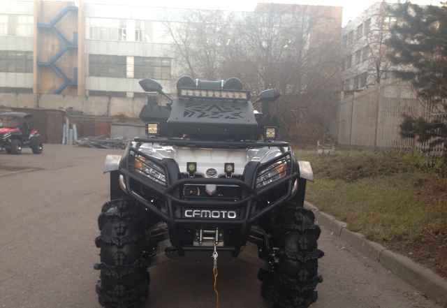Квадроциклы CFMOTO – купить в Москве