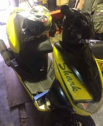 Буран и скутер