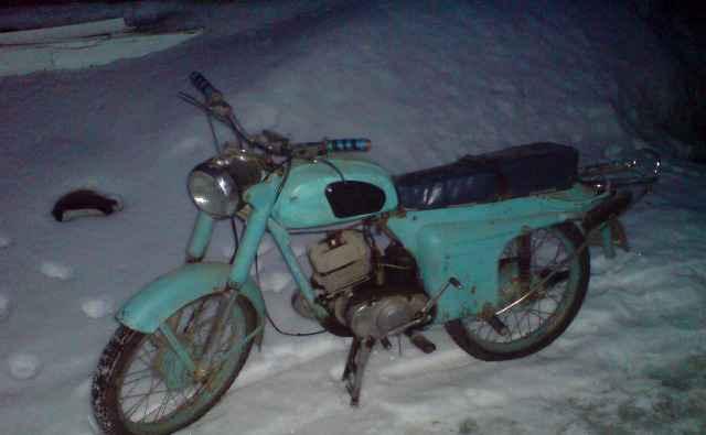 Мотоцикл СССР. Минск М-106