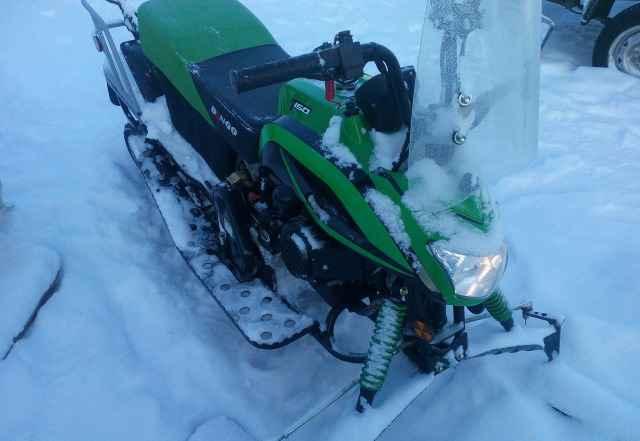 Снегоход динго т150