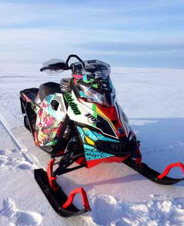 Ski doo Ренегат backcountry Х 800 e-tec