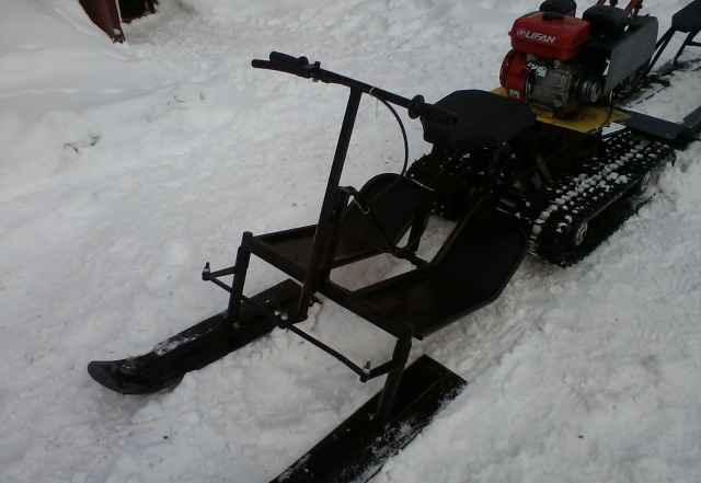 Лыжный модуль к мотоблоку
