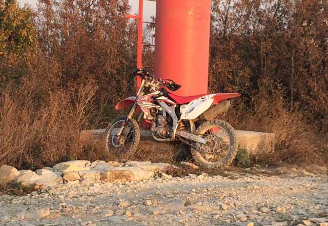Хонда CRF450R 2008г