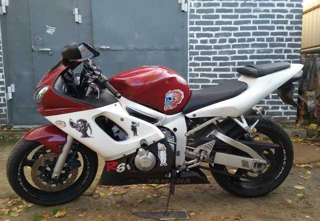 Мотоцикл Ямаха-YZF-Р6