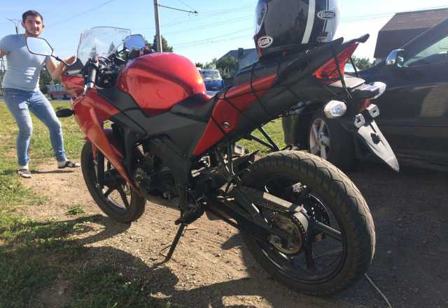 Мотоцикл gx250