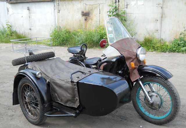 Мотоцикл с коляской М-72