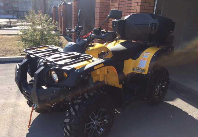 Стелс ATV 600 Леопард 2016г.в