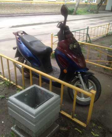 Скутер Ирбис