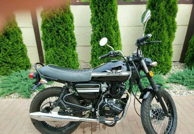 Мотоцикл Scrambler