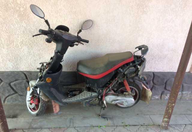 Скутор и мотоцикл
