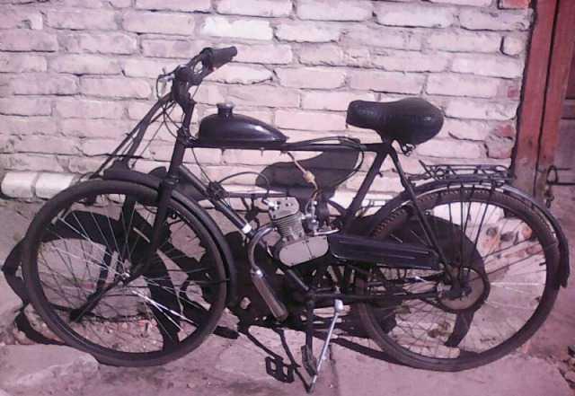 Велосипед с мотором, 80 см