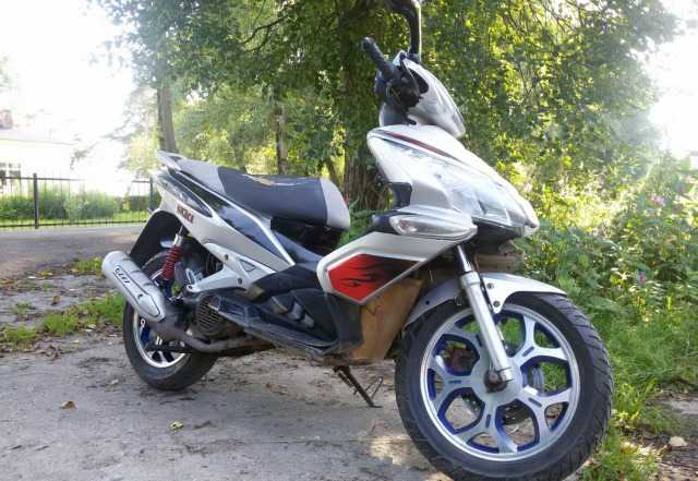 Продам скутер Ирбис Грэйс