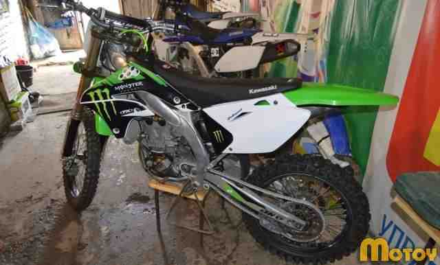 Кавасаки KX 450F 2009 год