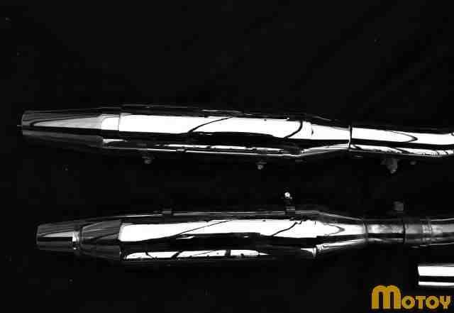 Выхлоп хром от HD Sportster Nightser 2012